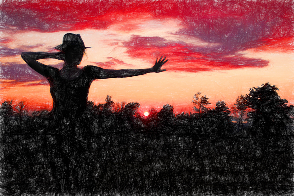 CAO-Sunset-Hat-Impression